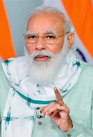 Премьер-министр Индии Нарендра Моди объявил о возобновлении кампании «Чистая Индия»