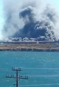 В Хабаровском крае потушили пожар на угольном терминале