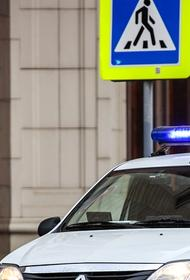 В Москве пьяный мужчина совершил вооруженное нападение на КПП отдела полиции