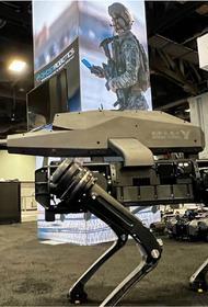 США представили прототип четвероногого
