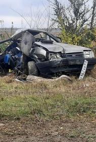 В Ростовской области женщина не справилась с управлением автомобиля, в результате ДТП погибли три её сына