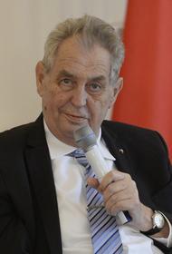 Спикер парламента Чехии Вондрачек:  Земан болен, но в хорошем настроении