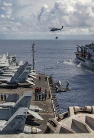 Ударная авианосная группа во главе с USS Ronald Reagan (класса «Нимиц») завершила межфлотский переход в состав 7-го флота ВМС США