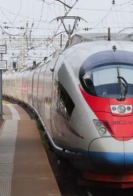 В Ленинградской области скоростной поезд «Сапсан» сбил коляску с 11-месячным ребёнком