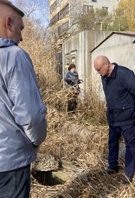 В Хабаровске ищут ответственных за опасные колодцы