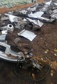 В Челябинской области водитель, сбивший пешехода, разобрал и закопал машину
