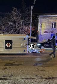 В Пензе в ДТП с участием скорой помощи погибла женщина-пациентка