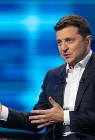 Рейтинг президента Украины Владимира Зеленского упал за месяц почти на 10 процентов