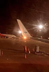 Самолет с хоккеистами хабаровского «Амура» экстренно сел в Нижнекамске