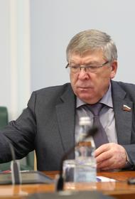 Сенатор Валерий Рязанский ушёл из Совета Федерации, проработав в парламенте 10 лет