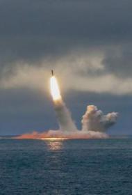РПКСН «Князь Олег» проекта 955 «Борей» запустил МБР «Булава» из Баренцева моря на Камчатку
