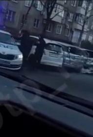 Пьяный водитель в Хабаровске протаранил пять автомобилей