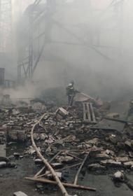 Момент взрыва на заводе в Рязанской области, где погибли 17 человек,  попал на видео