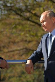 Путин пригласил Беннета посетить с супругой Санкт-Петербург