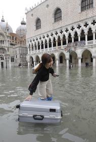 Глобальное потепление может утопить Венецию