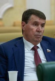 Сенатор Цеков заявил, что словами о ракетной атаке на Москву Арестович хочет доказать свою лояльность украинской аудитории