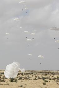 В ходе совместных российско-египетских военных учений пройдёт массовое десантирование людей и техники