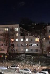 Шесть квартир были разрушены в результате взрыва газа в доме в Набережных Челнах