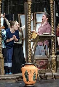Грациозная безделушка или жутковатая комедия на сцене Иркутского драматического