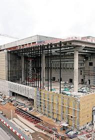 В Москве продолжается строительство комплекса самбо и бокса