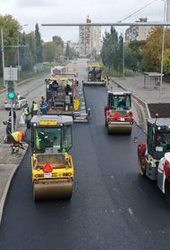 Завершается реконструкция улицы Карпинского в Перми