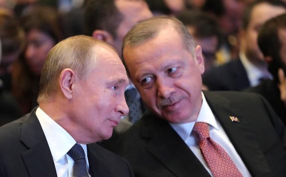 Президент России Владимир Путин поручил МИД подготовить приезд президента Турции  Эрдогана в Крым