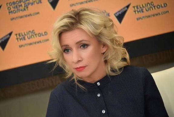 Захарова ответила возмущенному из-за указа о паспортах Порошенко