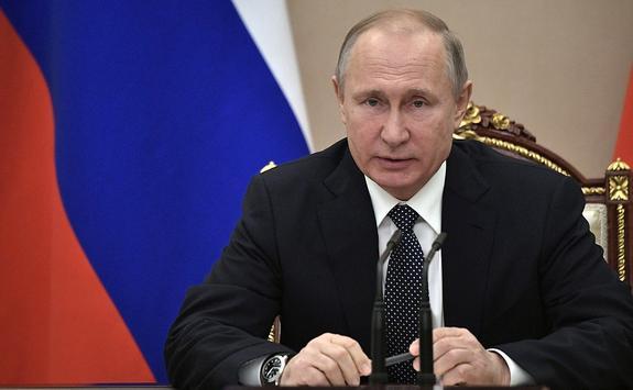 Путин снял с должности главу столичного ГИБДД