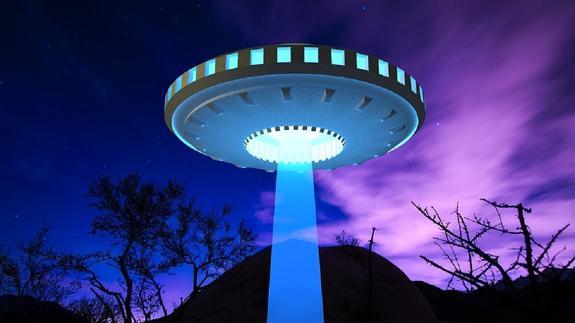 В США на фото сняли НЛО над горой Шаста
