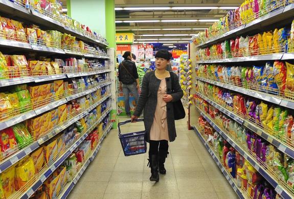 Россия наращивает поставки еды в Китай