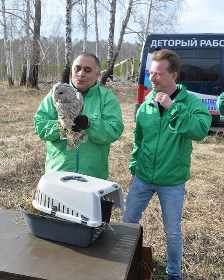 На Южном Урале зоозащитники отпустили на волю спасенных диких животных