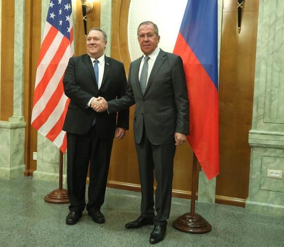 Помпео выразил желание улучшить отношения  России и США