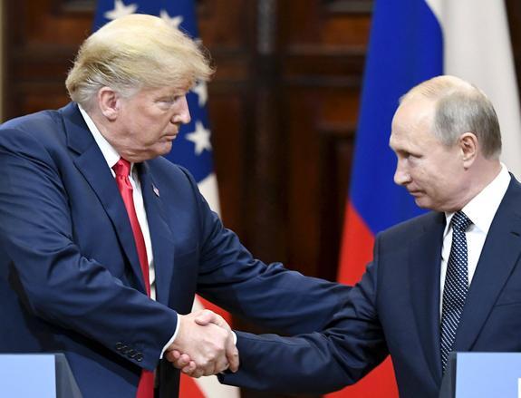 Путин не исключил, что Трамп настроен на восстановление российско-американских связей