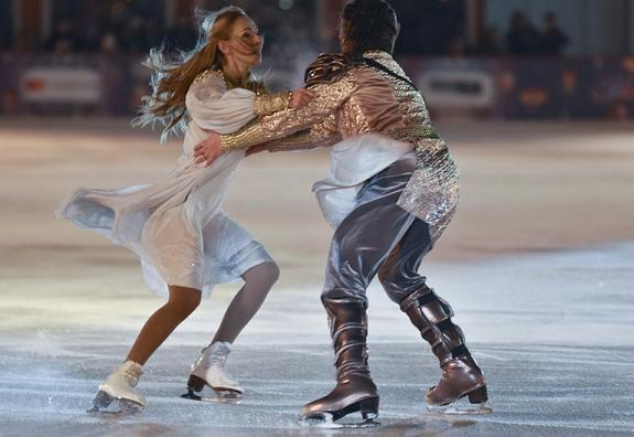 Навка возмутилась, когда Тарасова назвала ее ученицу на ледовом шоу полуфабрикатом