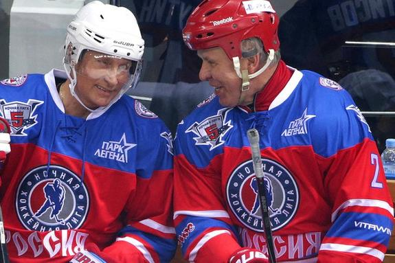 Вячеслав Фетисов: Путин упал и, сгруппировавшись, тут же оказался на ногах