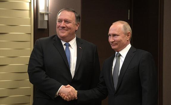 Лавров о встрече Путина и Помпео: Вежливость - не признак уступок