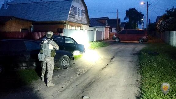 Видео с места ликвидации террористов в городе Кольчугино опубликовано в сети