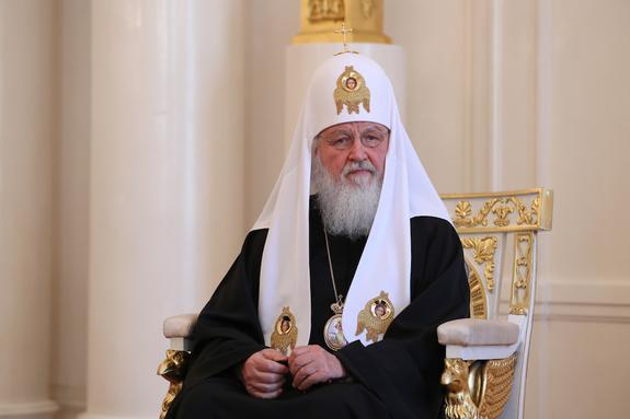 """Патриарх Кирилл: у России не бывает """"простых времен"""""""