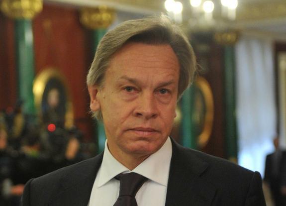Алексей Пушков прокомментировал отставку Терезы Мэй