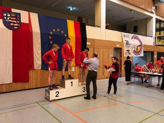 В Германии прошёл международный турнир по самбо