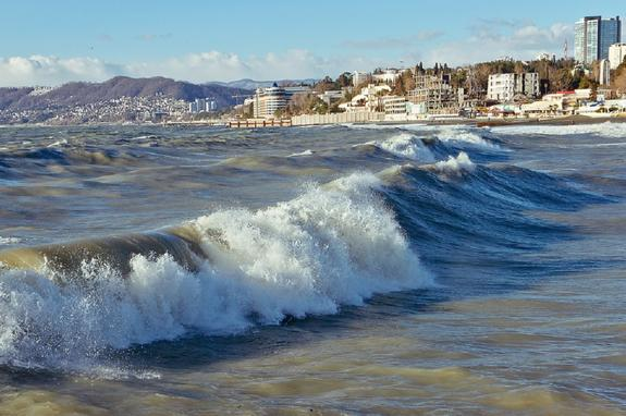 В Сочи до конца лета закрывают шесть пляжей