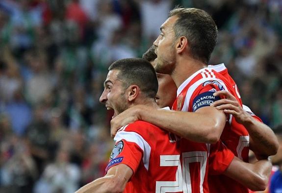 Сборная России одерживает важную победу над сборной Кипра 1:0