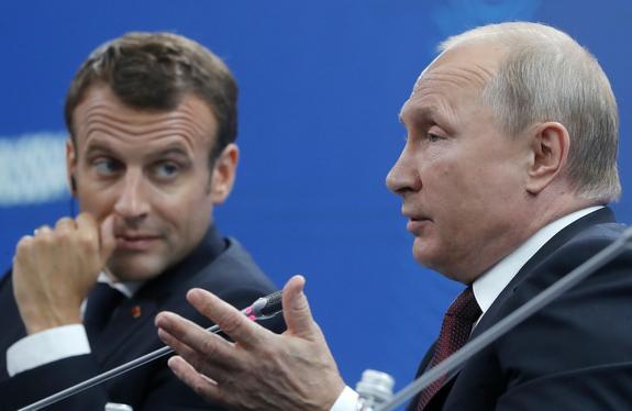 Елисейский дворец: Путин и Макрон могут провести встречу в ближайшее время