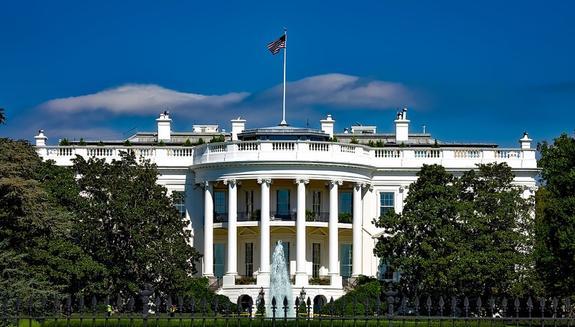 СМИ: при попытке перелезть через ограду Белого дома был задержан мужчина