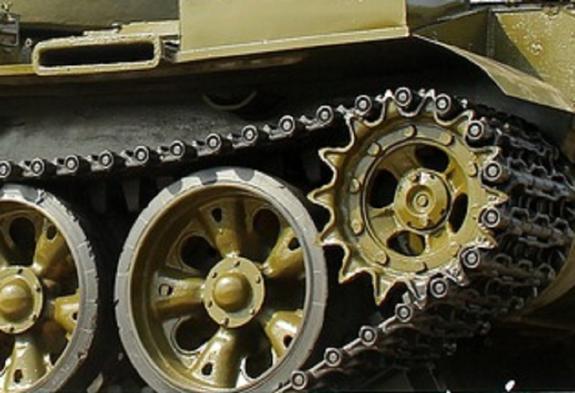 Видео: в Ливии произошел бой между двумя советскими танками