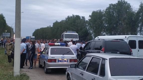 Песков: Путин был поставлен в известность  о ситуации в Чемодановке