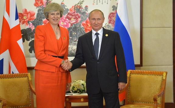 В СМИ сообщили о возможной встрече Путина и Мэй