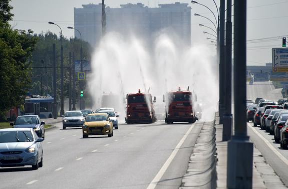 """""""Оранжевый"""" уровень опасности объявлен в Москве на среду"""