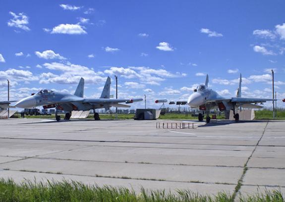 В сети появилось видео перехвата бомбардировщика ВВС США российским Су-27