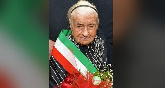 Старейшая жительница Европы скончалась в Италии